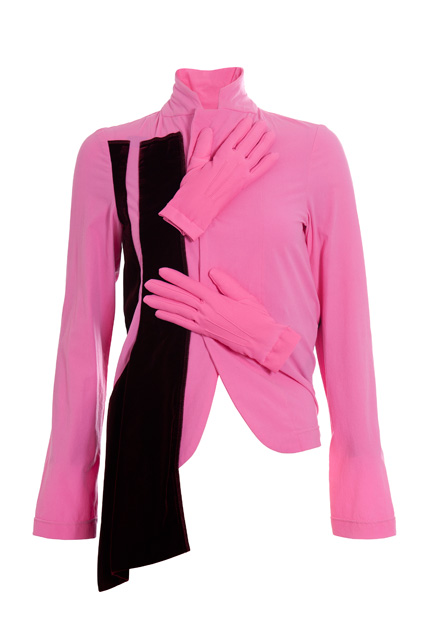 Pink jacket, front view (Fall/Winter 2007-2008)