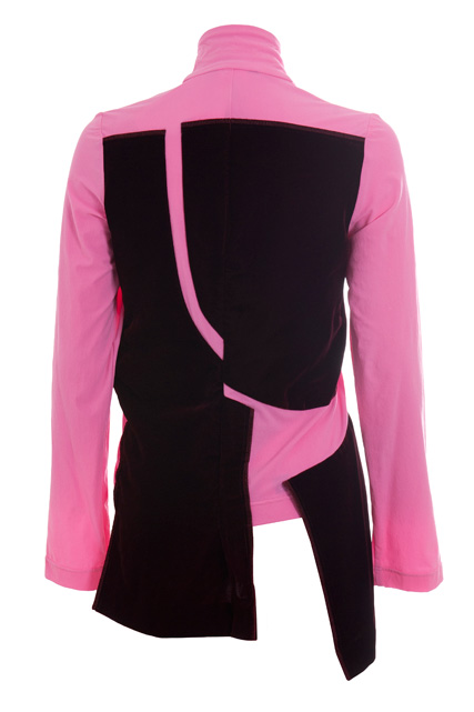 Pink jacket, back view (Fall/Winter 2007-2008)