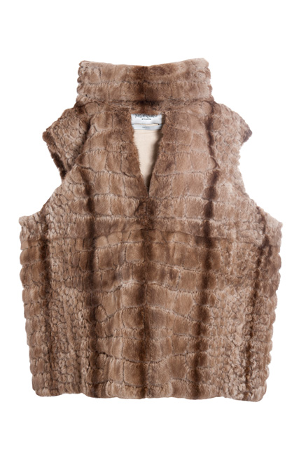 Natural mink vest (Fall/Winter 2007-2008)