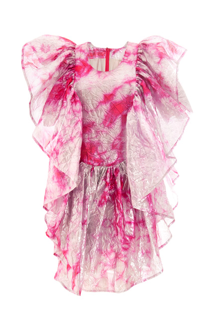 Stage costume designed for Bjork, front view (2008)