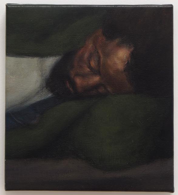 The Deep Sleep, 2013 Oil on canvas 22 x 24 cm