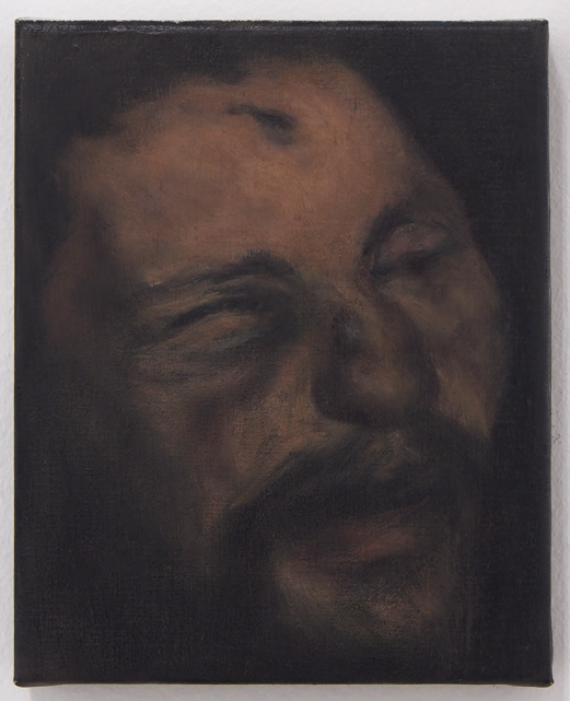 The Head of the Prophet, 2013 Oil on canvas 17 X 21 cm