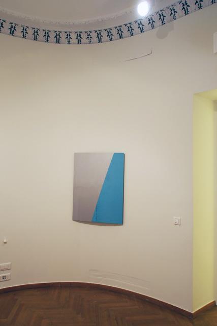 Air Cut, 2013 Aluminum, titan, lacquer 95 x 72 x 5 cm