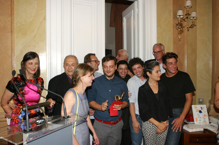 left to right: B. Curiger, D. Joannou, M. Christofides, D. Birnbaum, K. Sahpazis, I. Papailiakis, B. Ruf, M. Pirgelis, M. Theodoraki, M. Ringier, A. Tzannis (not pictured: J. Bock)