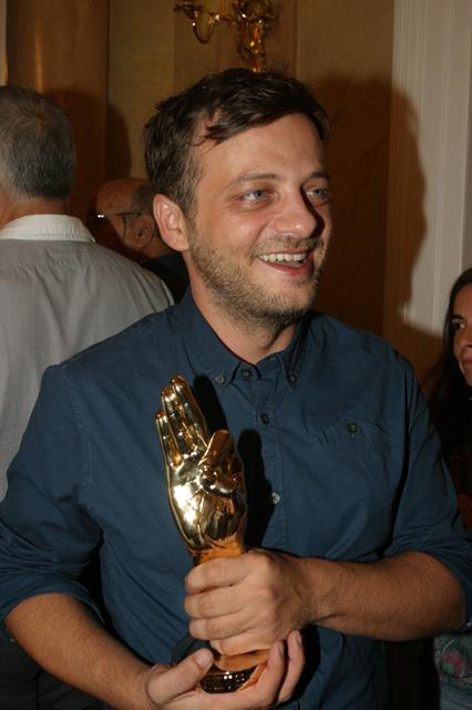 Kostas Sahpazis, winner of the DESTE Prize 2013