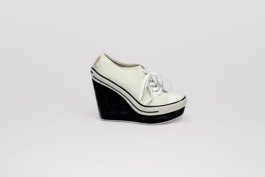 London Wedge Sneakers