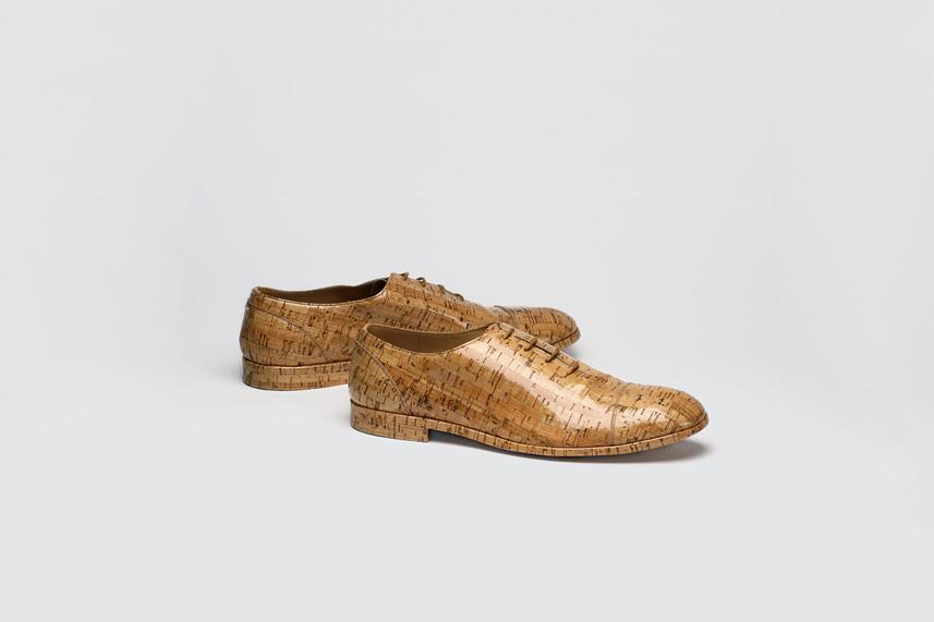 Cork Lace-Up Shoes