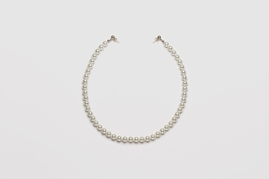 Pearl Necklace Earring