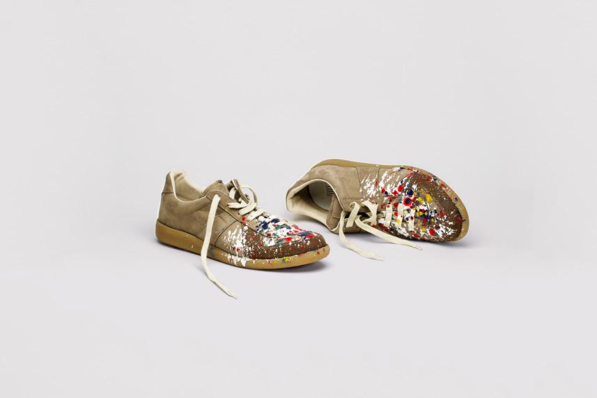 Splatter Replica Sneakers