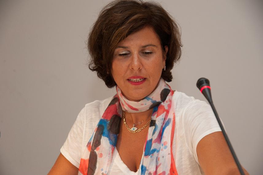 Panelist Ioanna Laliotou