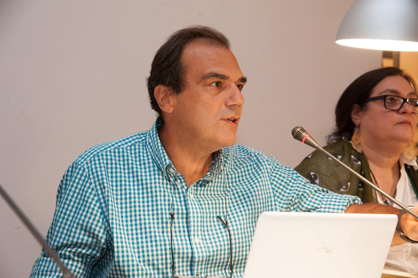 Panelist Nikos Bakounakis
