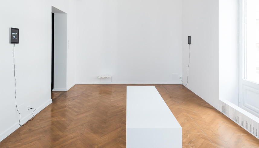 Installation view, DESTE Prize 2015, Museum of Cycladic Art, Athens, Greece
