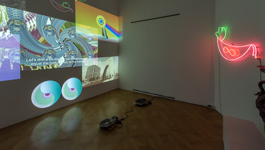 Installation view; Courtesy of the artist and The Breeder, Athens; photo: George Sfakianakis