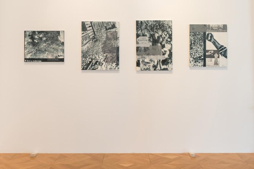 Installation view; Courtesy of the artist and Eleni Koroneou Gallery, Athens; photo: George Sfakianakis
