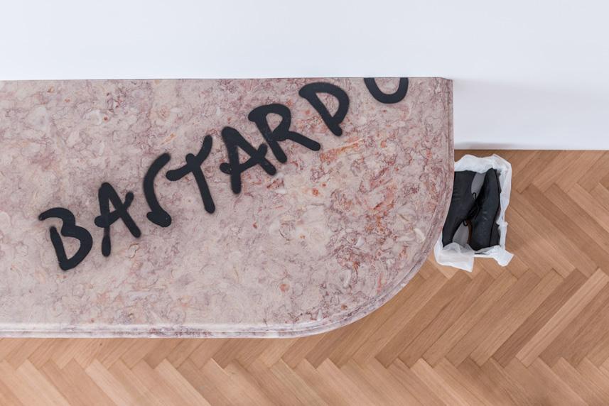 Installation view; Courtesy of the artist, Rodeo, London, and kamel mennour, Paris/London; photo: George Sfakianakis